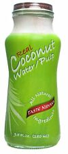 Taste Nirvana Real Coconut Water with Pulp 9.5 Oz - Pack of 12