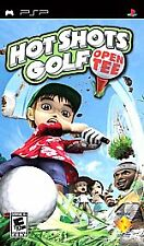 HOT SHOT GOLF - Open Tee SONY PSP, 2005 NEW E 10+ Game Greatest Hits