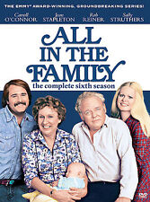 All in the Family - The Complete Sixth Season (DVD, 2007, 3-Disc Set), NEW !!!