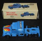 VINTAGE c1970s DIECAST MINIATURE TRUCK PENCIL SHARPENER BOXED MADE IN HONG KONG
