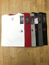Ralph Lauren Polo Men's Crew Neck Custom Fit T-Shirt Short Sleeve