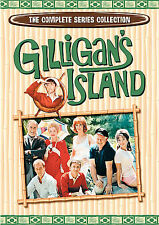 Gilligan's Island: The Complete Series Collection (DVD, 2007, 9-Disc Set) NEW