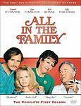 All in The Family Complete First Season (DVD 2002 3-disc) NEW Classic TV Comedy