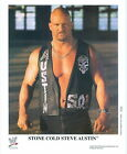 STONE COLD STEVE AUSTIN WWE UNSIGNED 8X10 PROMO PHOTO P-544