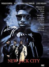 New Jack City (DVD, 1998) Wesley Snipes, Judd Nelson Used