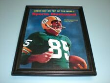 1967 PACKERS MAX MCGEE FRAMED SPORTS ILLUSTRATED PRINT