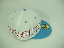 "New Era ""Incredible"" HULK 7 1/2 White Light Blue Hat 59 50 Fifty 59.6 cm 5950$33"