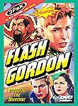 3 DVD Set FLASH GORDON Conquers the Universe 12 Chapters 6 1/2 Hours NEW Crabbe