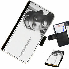2PAC10 TUPAC 2PAC LEATHER WALLET/FLIP PHONE CASE COVER AVAILABLE FOR ALL MODELS