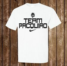 Manny Pacman Pacquiao Team Pacquiao - White Shirt Any Size S M L XL 2X 3X 4X 5X