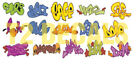 HO Scale Custom Graffiti Decals #9 - Weather Your Box Cars, Hoppers, & Gondolas!