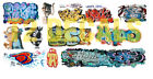 HO Scale Custom Graffiti Decals #32 - Weather Your Box Cars, Hoppers, & Gondolas