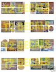 N Scale Ghost Sign Decals MEGA SHEET #3- Weather Your Buildings & Structures!
