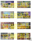 N Scale Ghost Sign Decals MEGA SHEET #5- Weather Your Buildings & Structures!