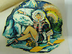 "1950s ""ESKIMO Girl+Polar Bear""Waterslide Transfer Suitable For Lambretta+Vespa"