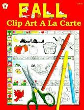 TEACHER BOOK Fall Clip Art a la Carte The Kids' Stuff(TM) Collection of Clip Art