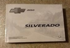 2010 10 Chevy Silverado Owners Manual