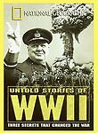 Documentary - National Geographic Video - Untold Stories of WWII Free Shipping