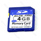 High Speed 4G 4GB SD Secure Digital Flash Memory Card For Camera GPS + Case