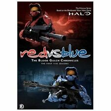Red vs. Blue: The Blood Gulch Chronicles: The First Five Seasons (DVD, 2010,.NEW
