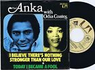PAUL ANKA Odia Coates German 45PS 1975 There's Nothing Stronger Than Our Love