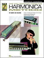 The Complete Harmonica Method Chromatic Book & CD Learn How To Play Mouth Organ