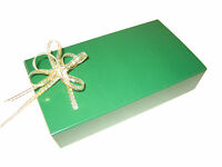 Wedding Party Favours Pack of 50 8 Truffle Boxes Plain or Merry Christmas print