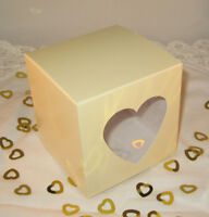 50 Single Cupcake Boxes + inserts Many colours & styles Wedding & Party Favours