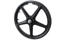 "20""BMX MAG WHEEL FRONT 5-SPOKE MAG WHEEL ,OLD SCHOOL/MODERN BMX 10mm AXLE BLACK"