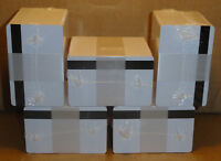 500 PVC CARDS WHITE 8mm Magnetic Stripe 2 TRACK HiCo 2750 30 mil Graphic Quality