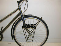 LOWRIDER FRONT PANNIER BAG LUGGAGE CARRIER RACK ALLOY TOURING BIKE/FIXIE CHEAP