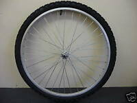"""26"""" FRONT ATB BICYCLE WHEEL COMPLETE WITH TYRE & INNERTUBE & RIM TAPE bike cycle"""