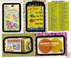 2008 WACKY PACKAGES Flashback Series 2 Set 72 Cards