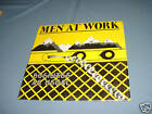 MEN AT WORK Business As Usual LP Record 1982 very good condition.