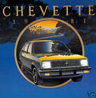 1981 Chevrolet Chevette 12-page Original Dealer Sales Brochure Catalog - Chevy