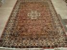 FINE IVORY TOCUH HAND KNOTTED RUG WOOL SILK CARPET 9X6