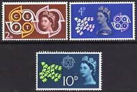 1961 CEPT. Superb unmounted mint set.
