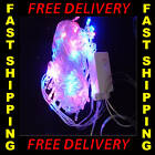 20m MULTI XMAS 200 LED CHRISTMAS PARTY STRING LIGHTS