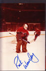 Rick Wamsley Montreal Canadiens Auto Signed 3x5