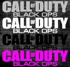 COD Call of Duty black OPS sticker for Xbox 360