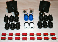 Arcade Set Mame 2 Joysticks 16 Taster Jamma Kit Joystick Bundle