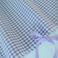LILAC - LONDON GINGHAM SMALL CHECK 100% COTTON FABRIC