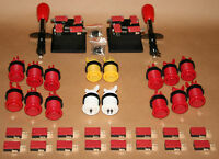 Arcade Set 2 Mame 2 Joysticks 16 Taster Jamma Kit Joystick