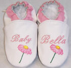 FLOWER moxies leather soft sole baby shoes NAME 6-12