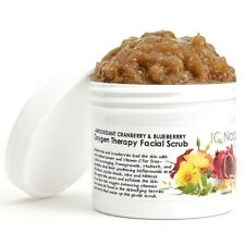 Antioxidant Oxygen Facial Face Therapy Radiant Glowing Skin Brightening Scrub