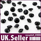 2000 jet black WEDDING TABLE SCATTER DIAMONDS CRYSTALS