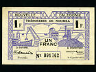 New Caledonia:P-52,1 Franc ,1942 * French Rule *