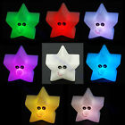 Shiny Star 7-Color Changing LED Lamp Decor Night Light