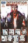 INFESTATION: OUTBREAK #1 NM COVER B IDW ZOMBIES CVO
