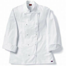 NEW Dickies Hospitality CW070106 Female Grand Master Chef Coat Jacket M L XL 2XL
